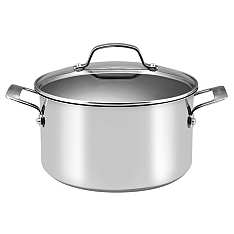 Circulon Genesis stainless steel stockpot, 24cm