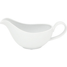 Waitrose Chef's White gravy boat