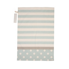 Cream & Country mint stripe tea towel