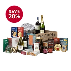 Waitrose Christmas Extravaganza Crate