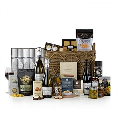 John Lewis Silver Celebration Christmas Hamper
