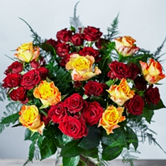 Autumn Marie Claire Roses Bouquet