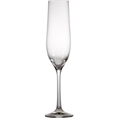 Waitrose optic crystal Champagne flute