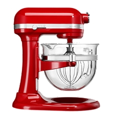 KitchenAid Artisan 6L glass bowl mixer