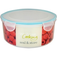 Waitrose seal & store 3.6L round container