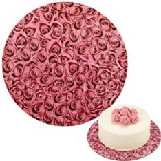 "Wilton 12""roses cake boards, pack of 3"