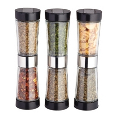 Master Class three dual ended spice dispensers