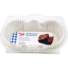 Tala siliconised loaf liners 1 litre, set of 40