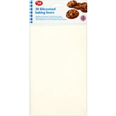 Tala rectagular baking liners, 34 x 27cm, pack of 20