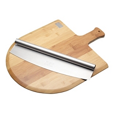 World of Flavours Italian pizza board with knife