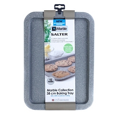 Salter Marble Collection baking tray, 38cm
