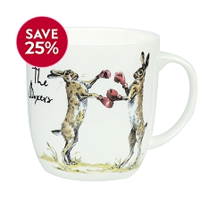 Churchill China country pursuits the boxers mug