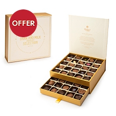 Charbonnel et Walker Gold Drawer Box 650g