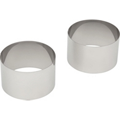 Waitrose Cooking cooking rings steel
