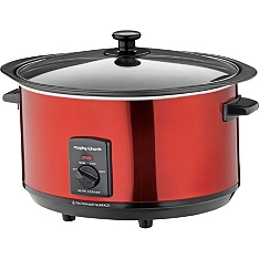 Morphy Richards red sear & stew slow cooker