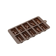 Sweetly Does It silicone numbers chocolate mould