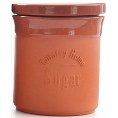 DMD Terracotta sugar canister