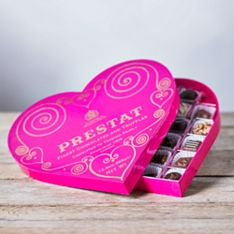 Prestat Heart Chocolate Box Large - 385g