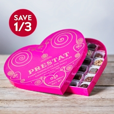 Prestat Heart Chocolate Gift