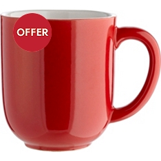 Waitrose Dining Oxford red mug