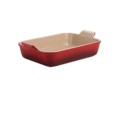Le Creuset deep rectangle baking dish, 32cm