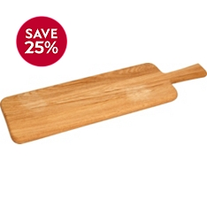 Waitrose Dining wooden paddle board