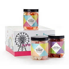 Sugar Sin Cocktail Gummies Trio Gift Set 690g