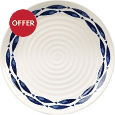 Churchill China Sieni fishie on a dishie 26cm dinner plate