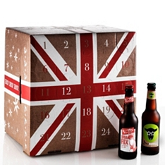 Best of British Beer Advent Calendar Gift Box