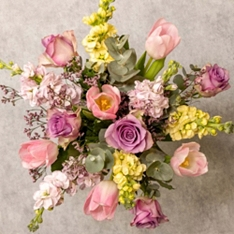 Mother's Day Lilac Stocks Bouquet