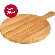 Waitrose Dining oak pizza board