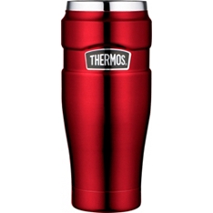 Thermos 470ml red stainless steel king food tumbler