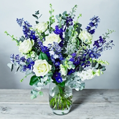 Azure Blue Bouquet