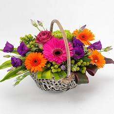 Same Day Vibrant Basket