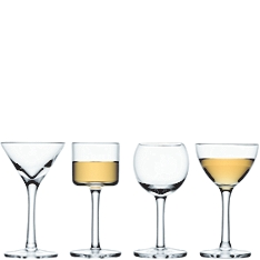 LSA Lulu liqueur glasses, set of 4 assorted