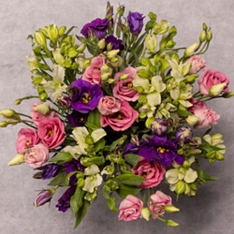 Speciality Alstroemeria & Lisianthus Bouquet