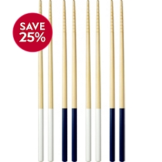 Waitrose Dining blue and white chopsticks