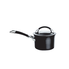Circulon Symmetry 16cm black saucepan