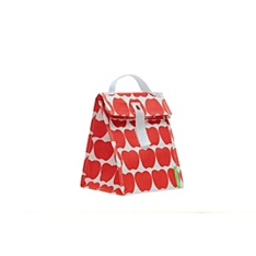 Lunch Skins apple lunch tote bag
