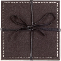 Waitrose reversible coasters, set of 4