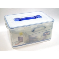 Lock & Lock Handy container with freshness tray, 8 litre