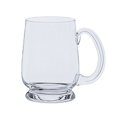 Dartington Glass Tankards barley corn glass, 1/2 pint