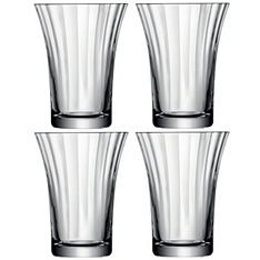 LSA Aurelia tumbler glasses, set of 4