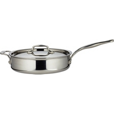 from Waitrose 24cm tri-ply saute pan