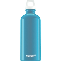 SIGG fabulous aqua aluminium water bottle, 0.6 litre