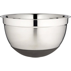 Waitrose Cooking stainless steel mixing bowl