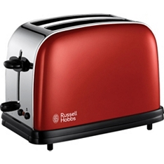 Russell Hobbs red 2 slot toaster