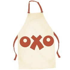 Oxo red apron