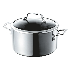 Meyer Anolon 24cm authority stainless steel stockpot