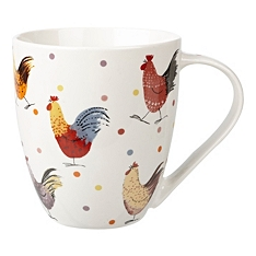 Churchill China Rooster crush mug